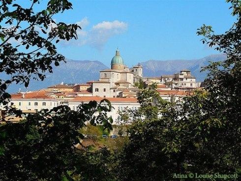 Atina Frosinone Italy in the Val di Comino